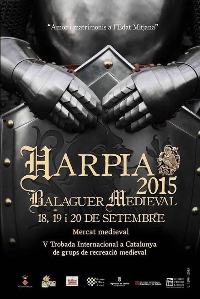 HARPIA 2015 - Amor i matrimonis a l'Edat Mitjana