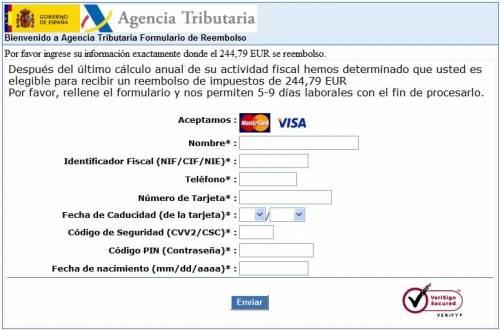 ALERTA TECNOLÓGICA - Phishing de la Agencia Tributaria