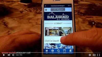 Le Coquett - Web informativa en la App Guía Balaguer