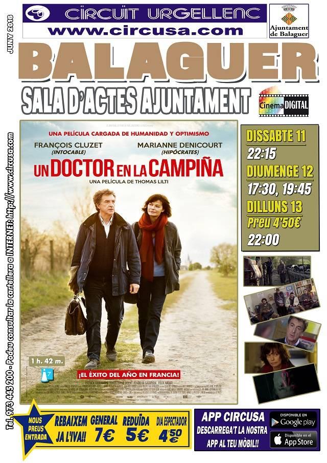 CINE JUNIO 11, 12 y 13 - UN MÉDICO EN LA CAMPIÑA