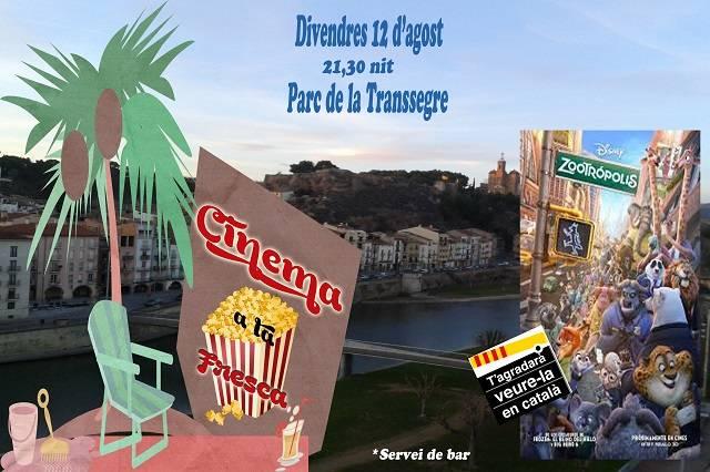 CINE AL AIRE LIBRE - ZOOTRÓPOLIS (Cine infantil en Catalán)