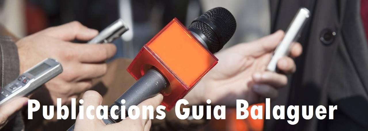 Guia Balaguer Serveis turístics Balaguer Lleida