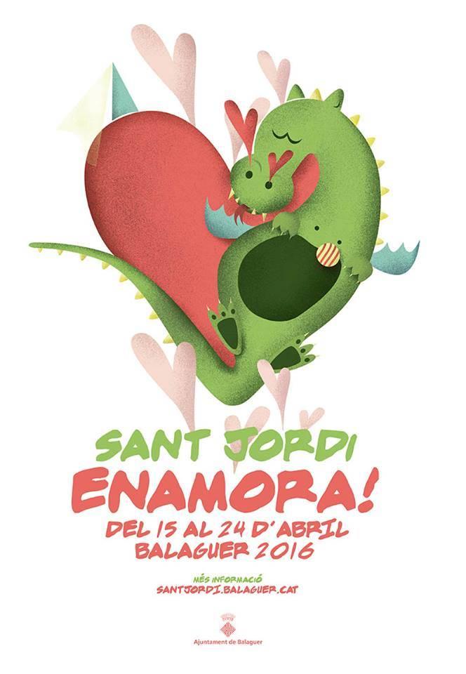 Sant Jordi enamora 2016