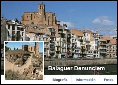 Balaguer denunciem