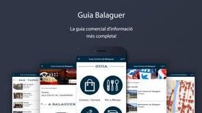 Video promocional de la App Guía Comercial de Balaguer