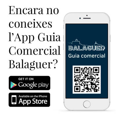 7 motius per tenir i recomanar l'App Guia Balaguer al mòbil
