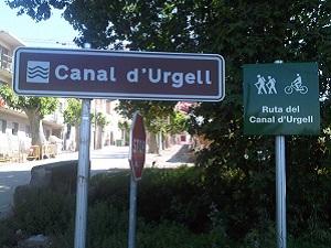 Rutas por el Canal de Urgell