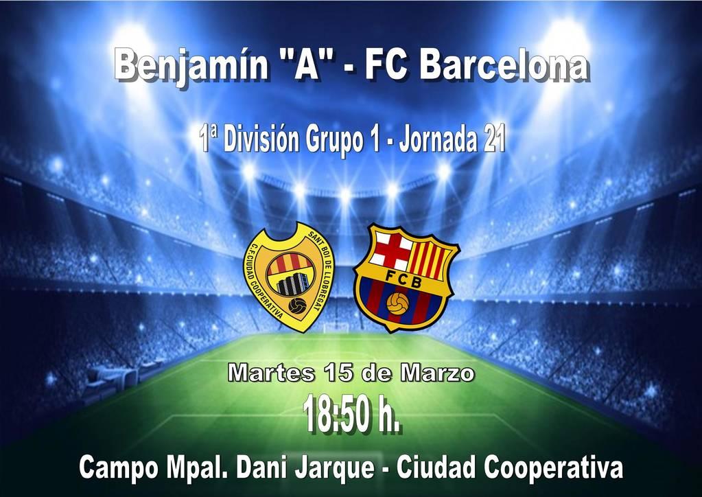 Benjamín A - FCB