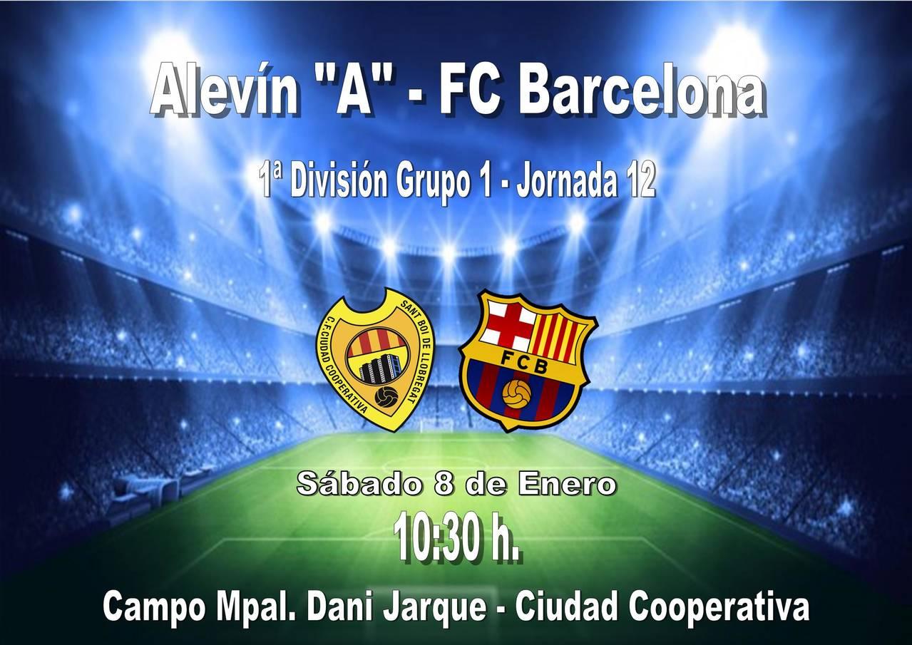 Alevín A - FC Barcelona