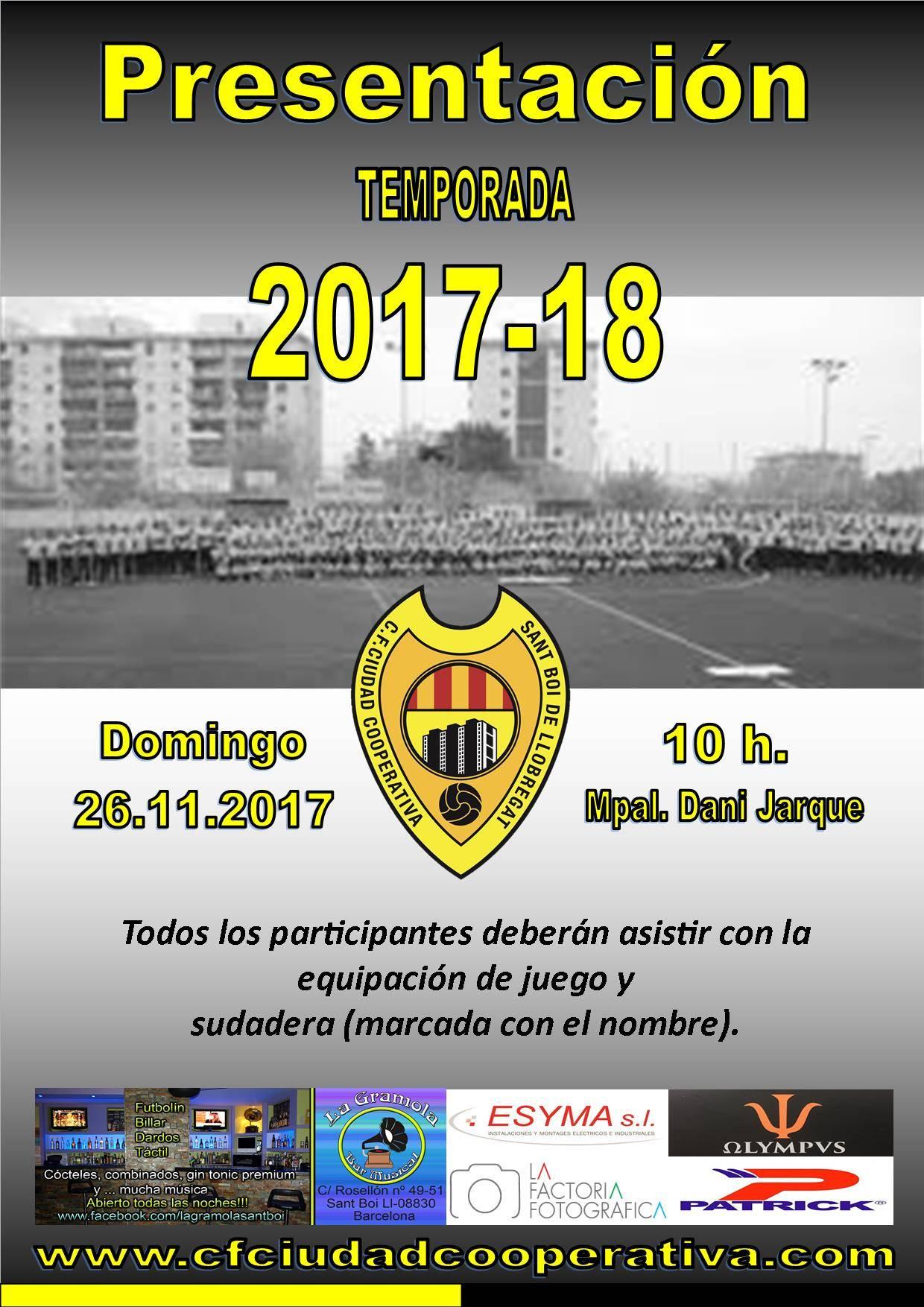 Presentación Temporada 2017/18