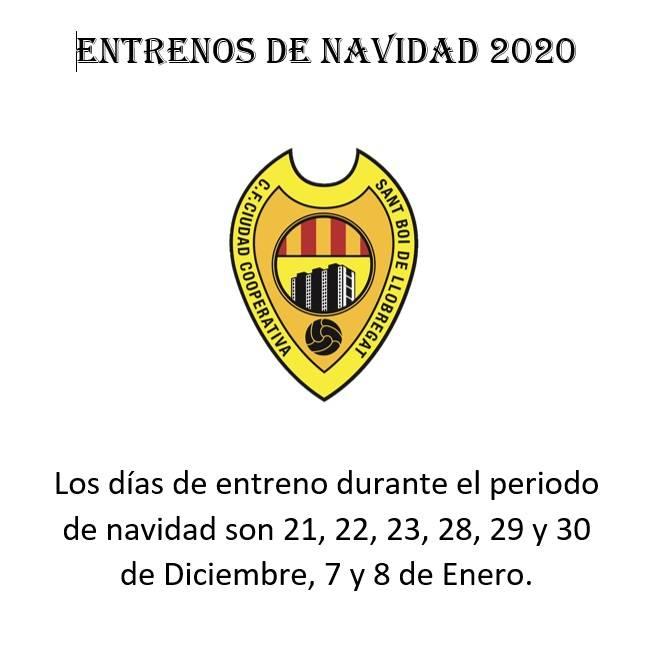 Entrenaments de Nadal 2020