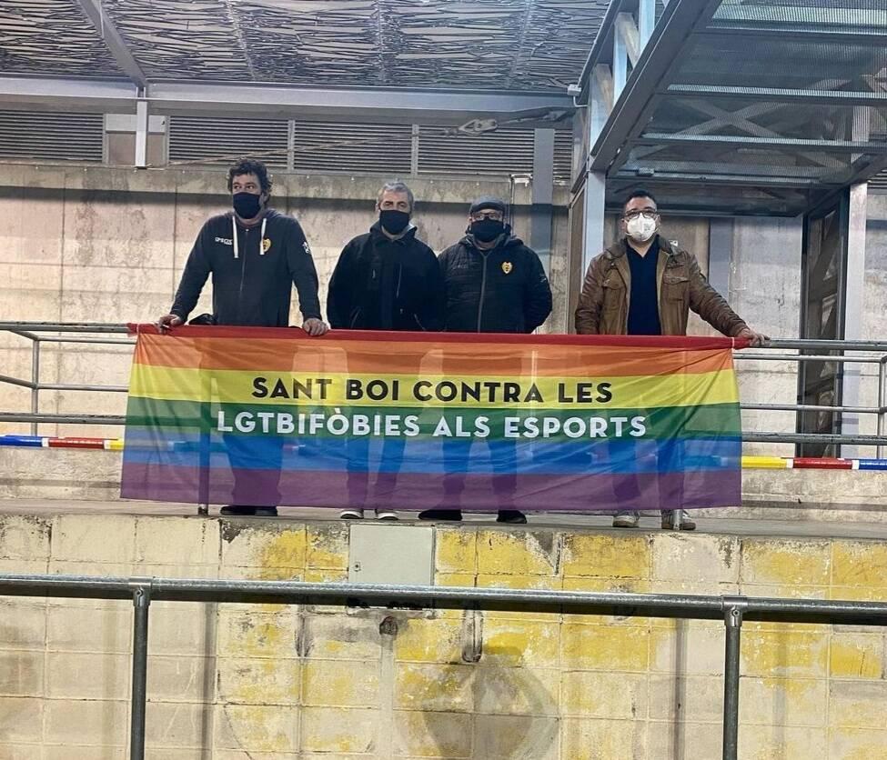 Lucha contra la homofobia.