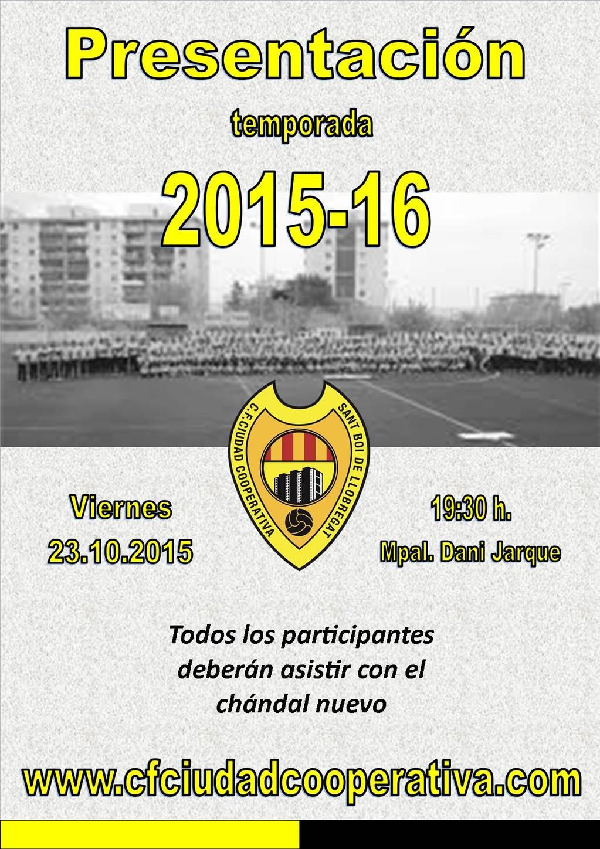 Presentación 2015/16