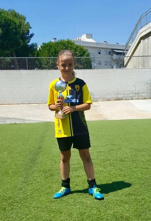 Bea Pérez con el FCB