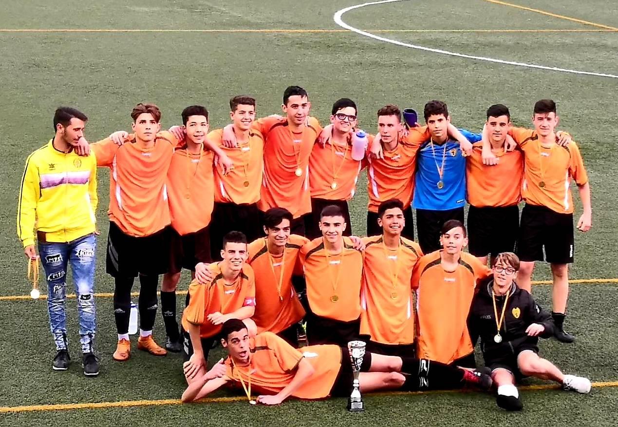 Cadete A ¡Campeones de la Barcelona Youth Cup!