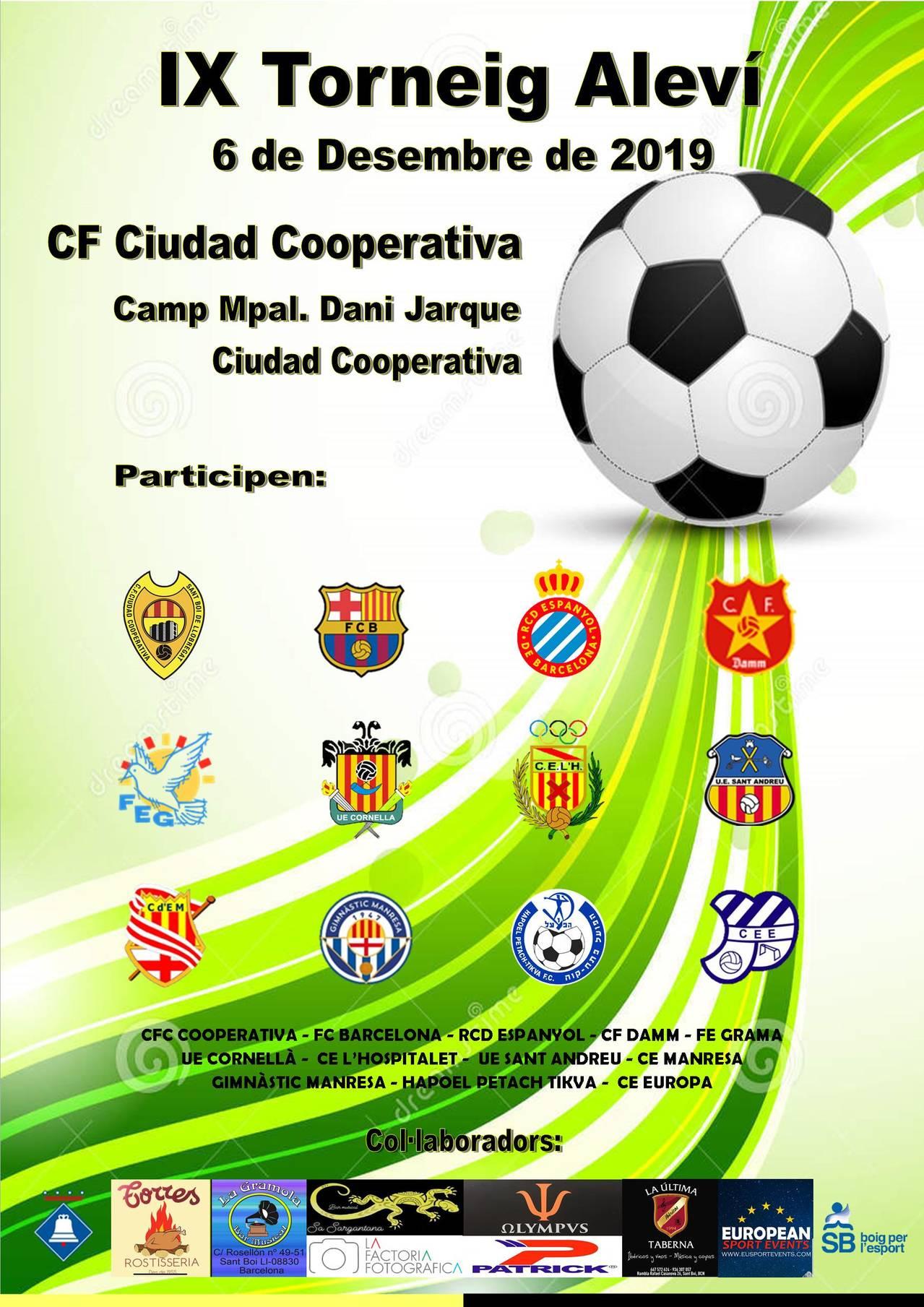 ¡Hoy es el dia! IX Torneo de Alevines CFC Cooperativa