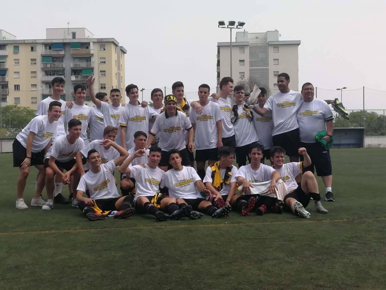 Nuestros Juveniles ¡Campeones!