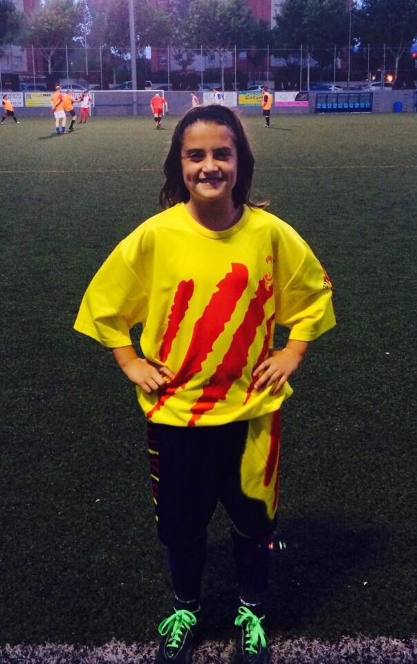 Alícia con la Catalana.
