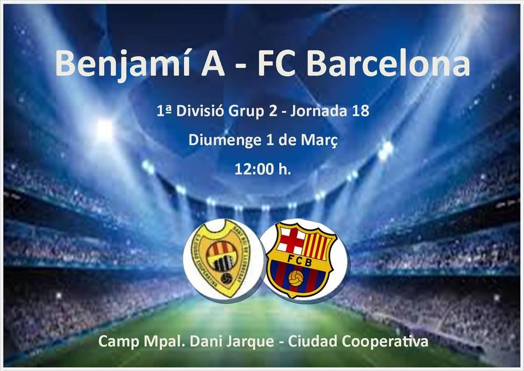 Benjamí A - FC Barcelona