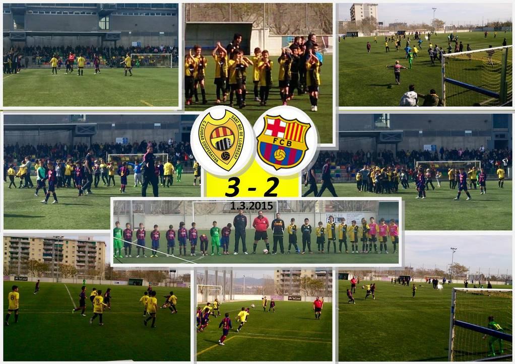 Benjamí A - 3 FC Barcelona - 2