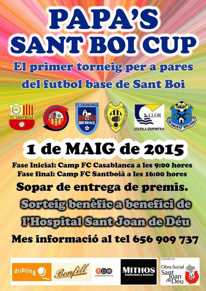 Calendari Papa 's Sant Boi Cup