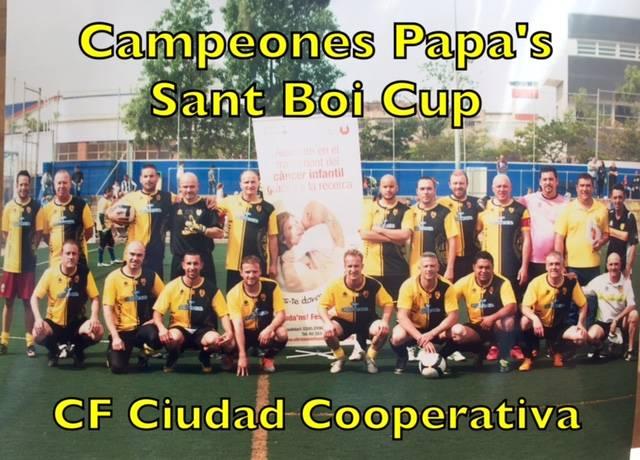 ¡Campeones Papa's Cup!