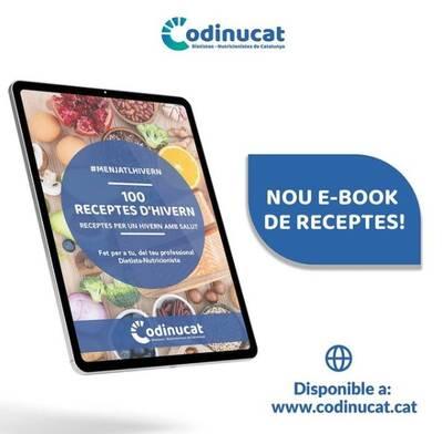Descobreix el nou llibre gratuït del CODINUCAT amb 100 receptes d'hivern!
