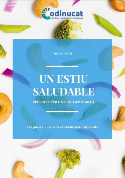 El CODINUCAT presenta el primer llibre gratuït de receptes d'estiu.