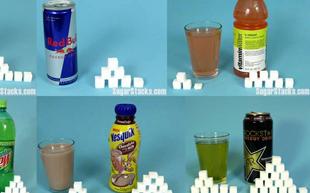 El sucre d'algunes begudes