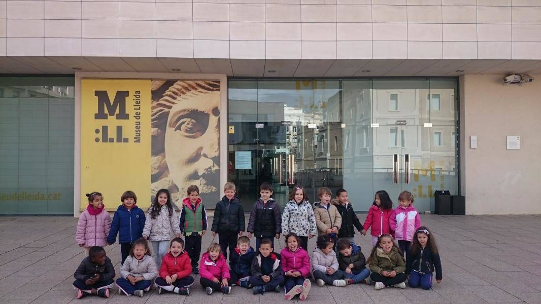 Departure to the Museum of Lleida