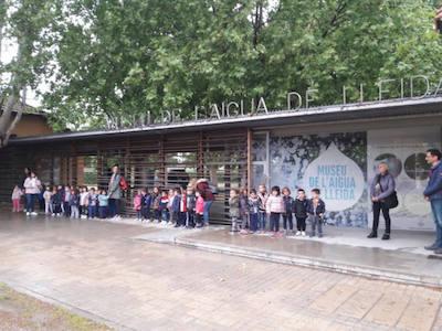 Visita al Museu de l'Aigua