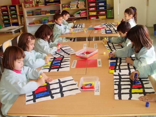Taller Mondrian segon quatrimestre P4