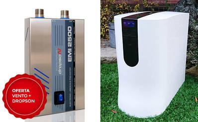 Descalcificador + Osmosis inversa