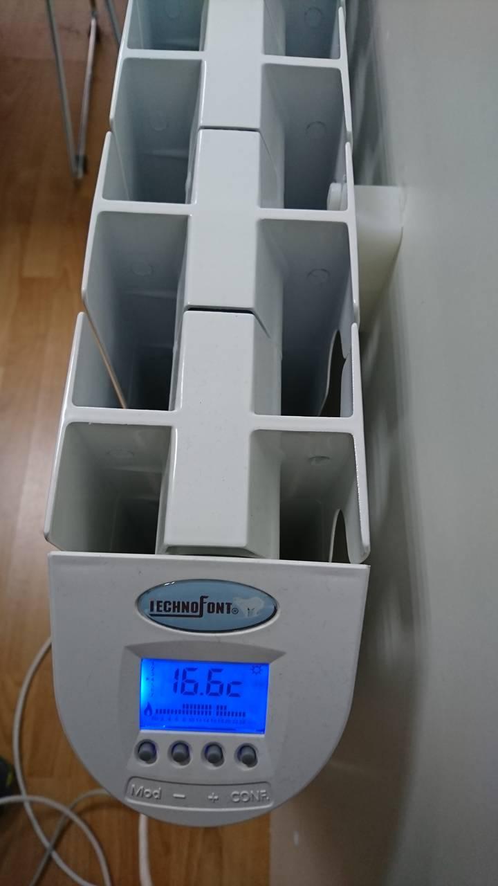 Instal.lació sistema Technofont a les oficines de LNC al C/Odena 36 d'Igualada.