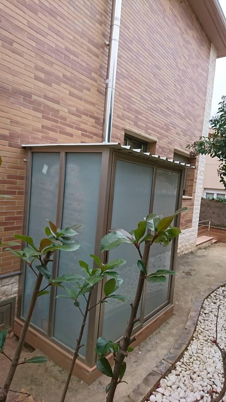 Instalación caldera Ferroli Naturfire de Biomasa en Odena.