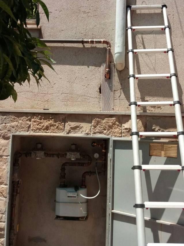 Reparación escape GAS en Piera.