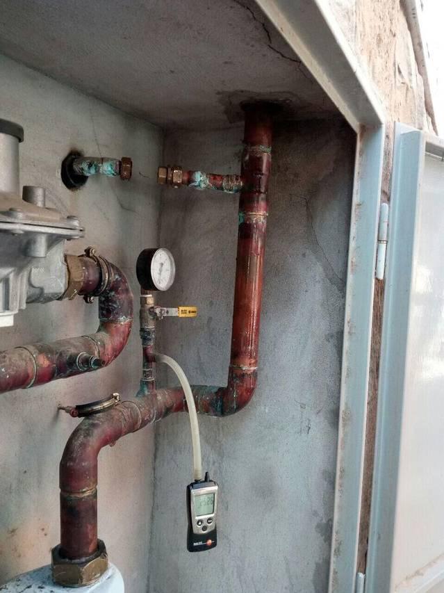 Reparació fuita GAS a Piera.