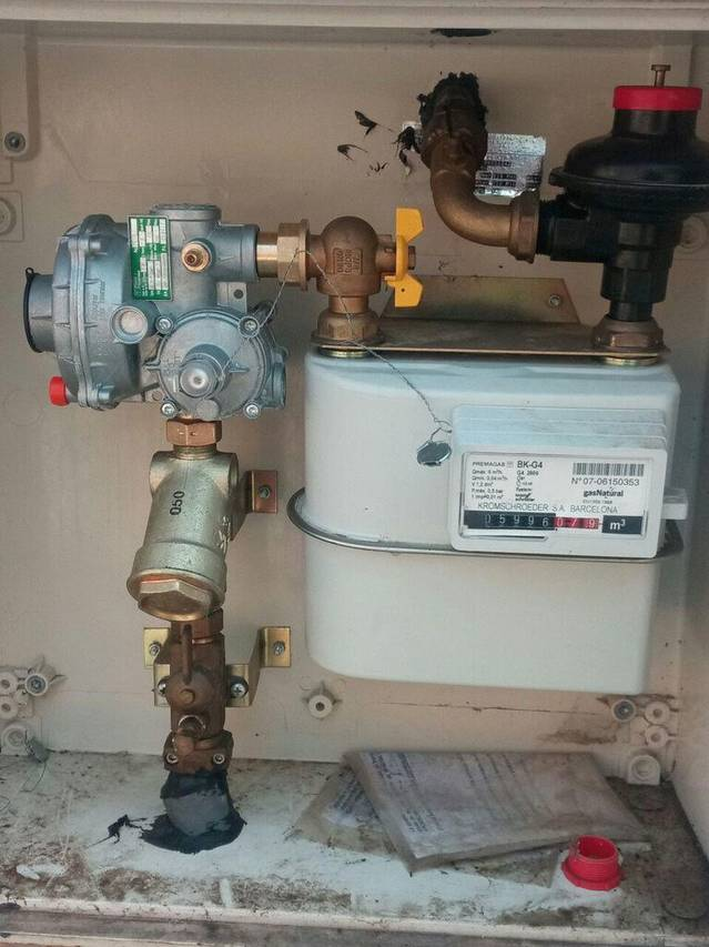 Sustitución Regulador GAS en Olesa de Montserrat.
