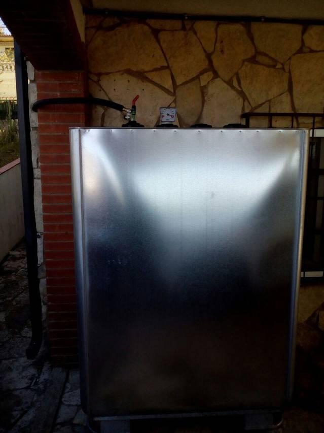 Depósito gasóleo 1000 lts en Vall Serrat