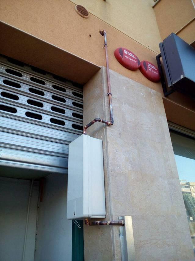 Instalación de gas Pizzeria en Esparreguera