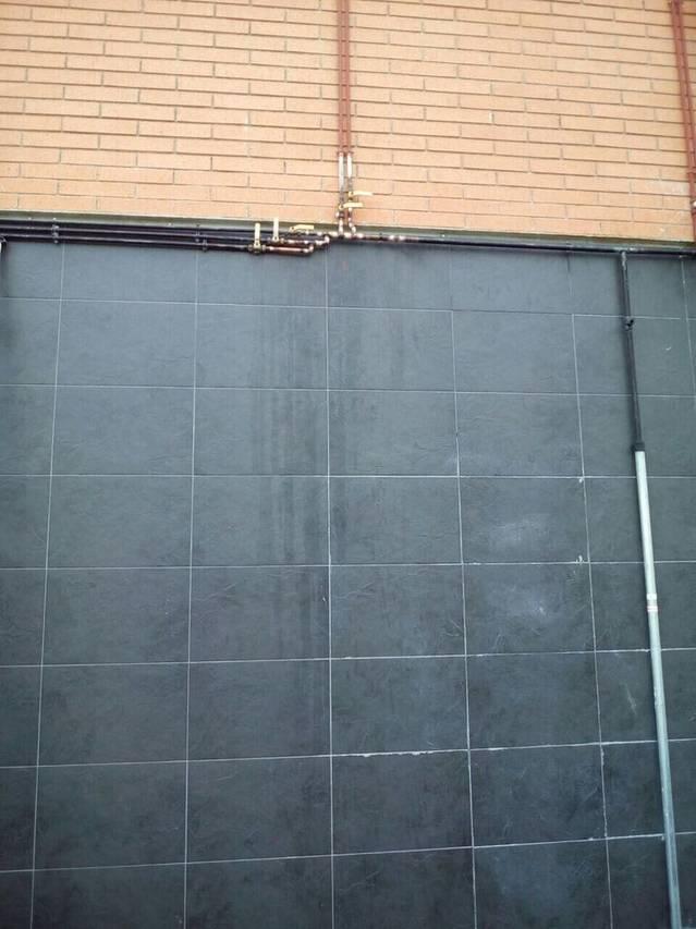 Reparación escape de Gas a Finca de Odena
