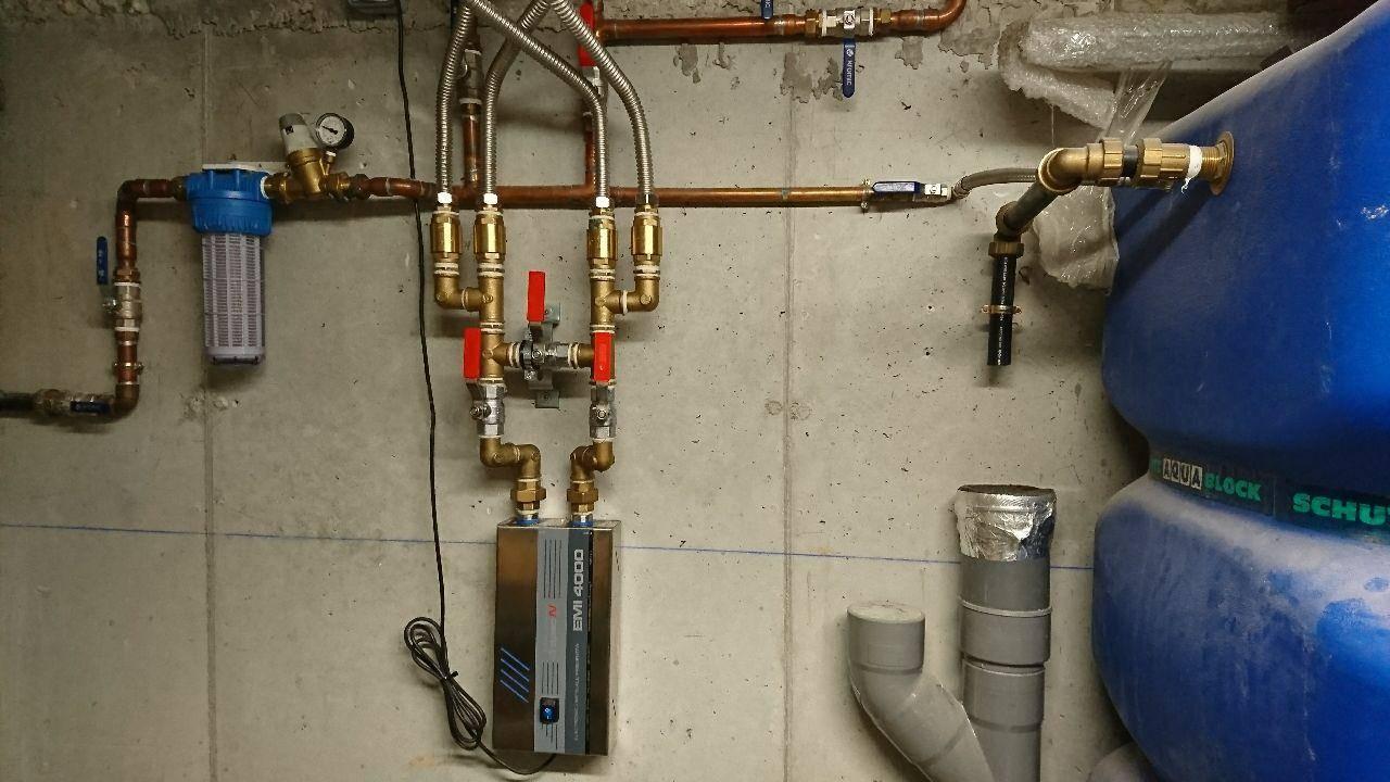 Desc.Dropson EMI-4000 amb filtre i regulador pressió inst. a Odena.