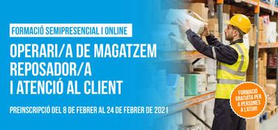 CURS OPERARI DE MAGATZEM, REPOSADOR/A I ATENCIÓ AL CLIENT