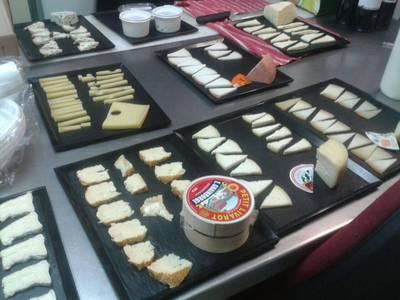 Introducció al món dels formatges