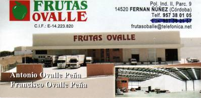Frutas Ovalle