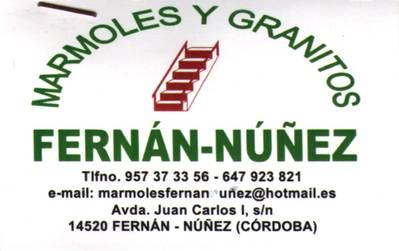 Mármoles y Granitos Fernán Núñez