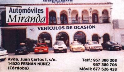 Automóviles Miranda