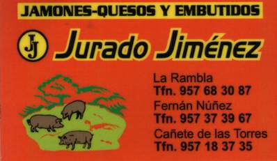 Jamones y Embutidos J.J. Jurado Jiménez