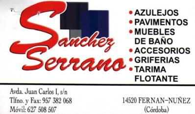 Azulejos y Pavimentos Sanchez Serrano