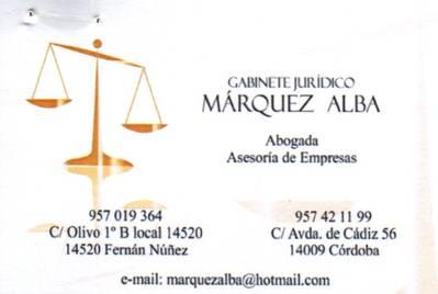 Mª Mercedes Márquez Alba